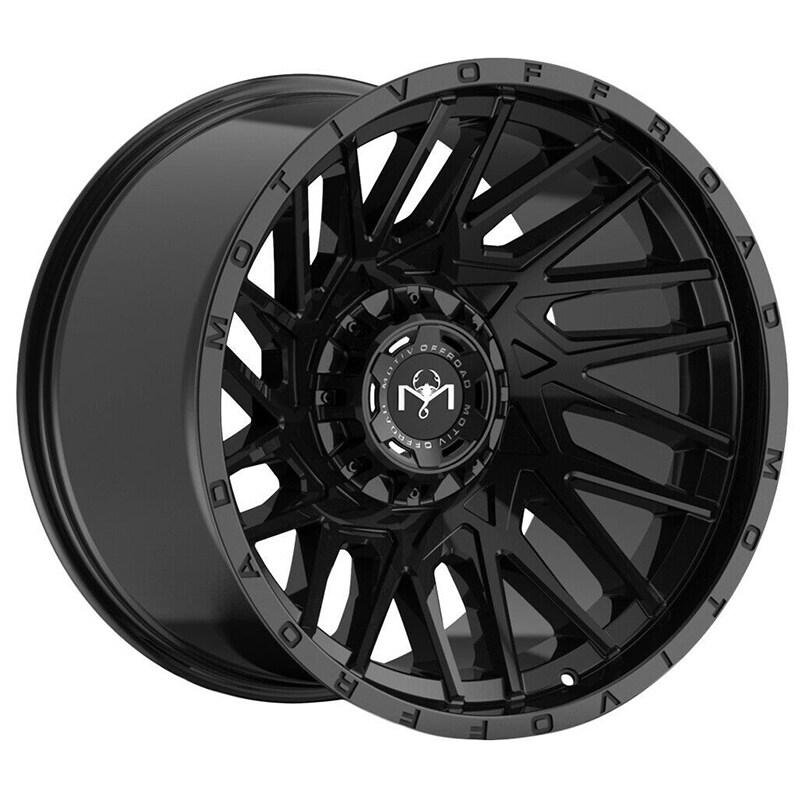 Motiv Offroad 424mb mutant 20x9 6x135/6x139.7 +18et 108.00mm gloss black wheel