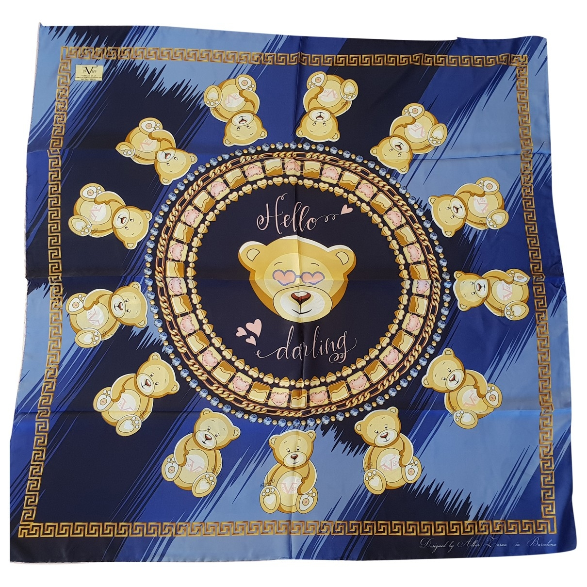 Versace \N Multicolour scarf for Women \N