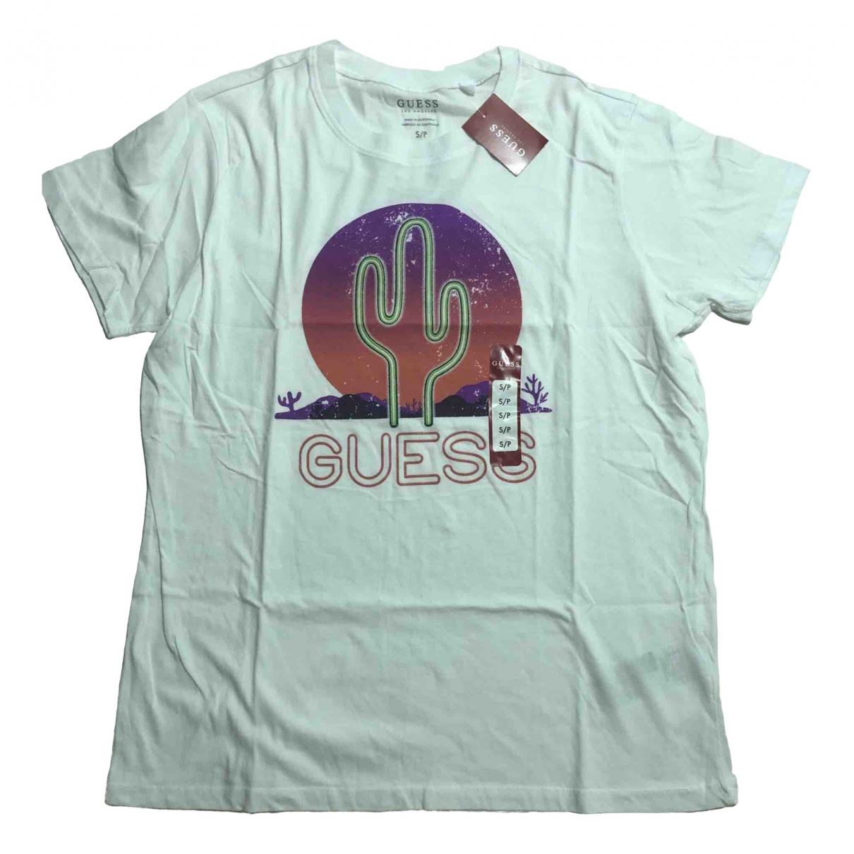 Guess \N White Cotton T-shirts for Men S International