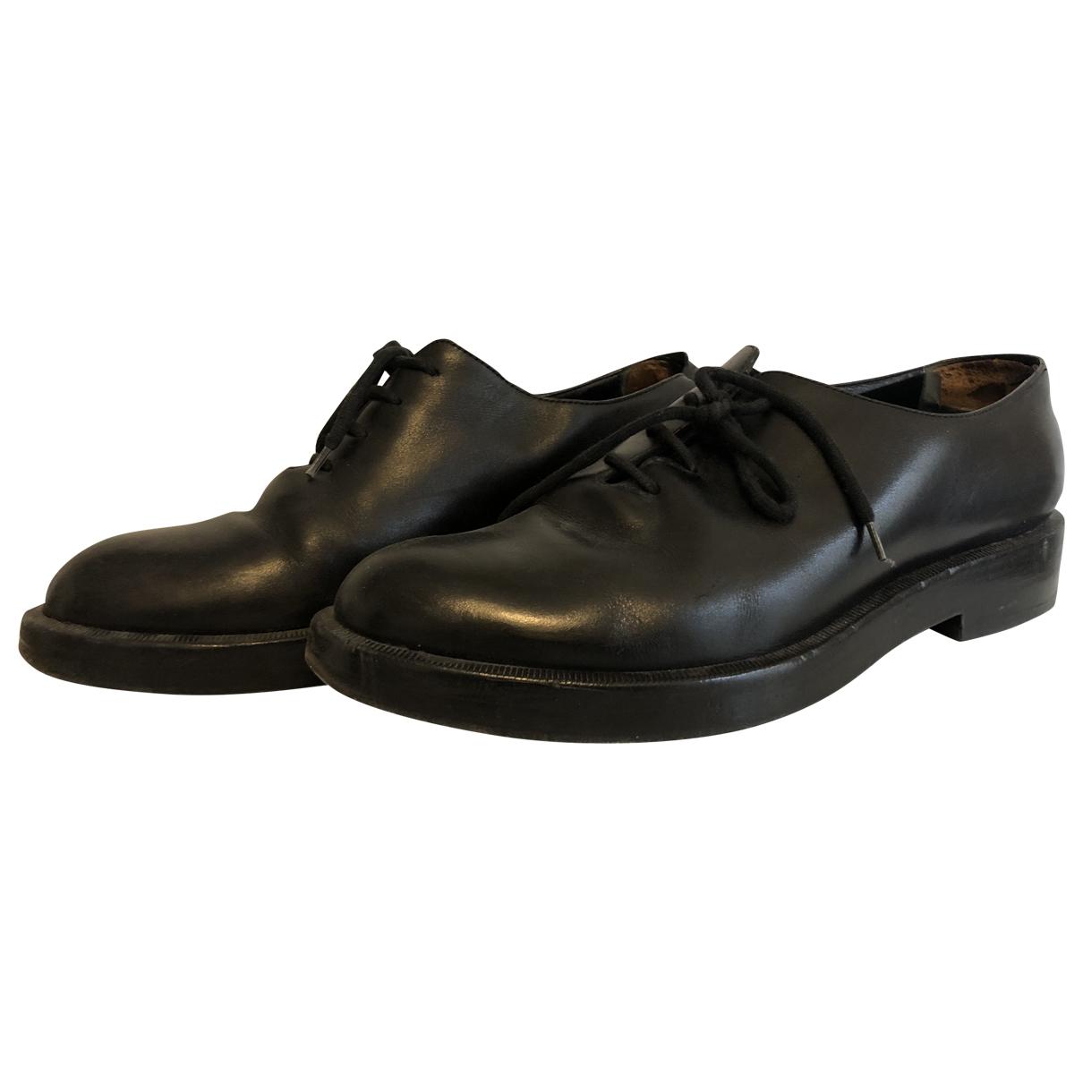 Balenciaga - Derbies   pour homme en cuir - noir