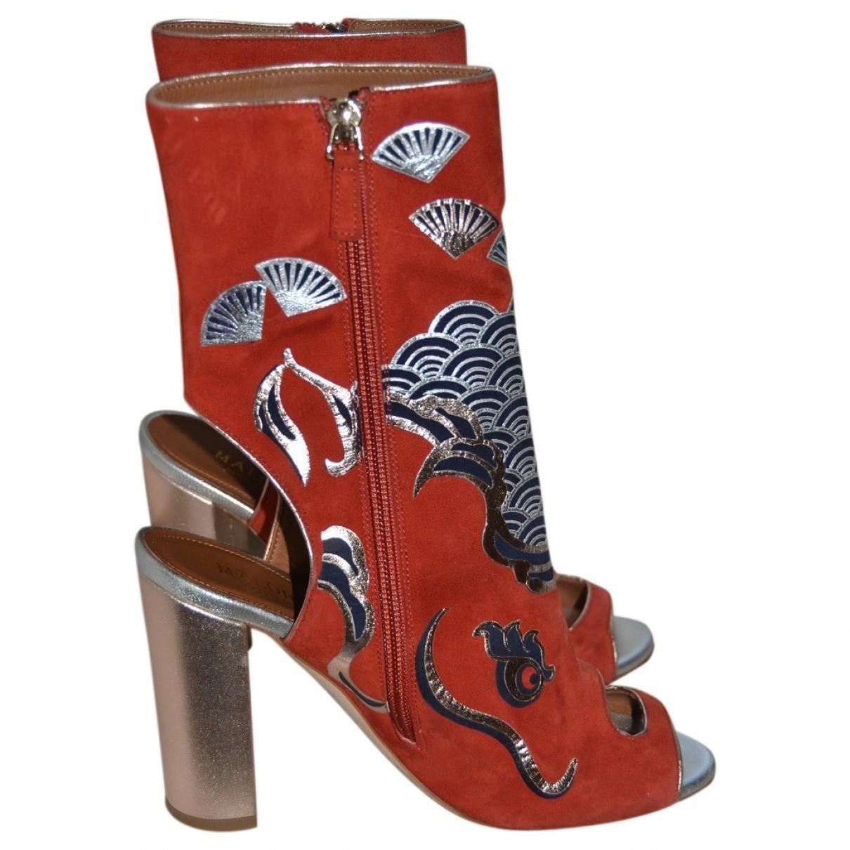 Malone Souliers - Boots   pour femme en suede - multicolore
