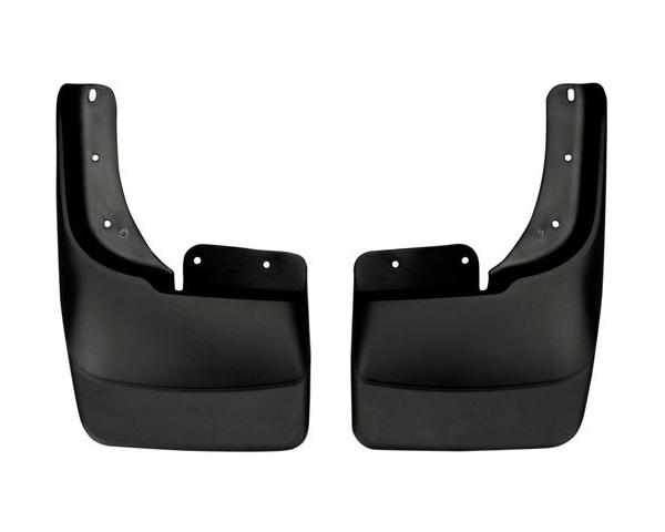 Husky Mud Flaps Front 97-04 Ford F Seried With OE Fender Flares