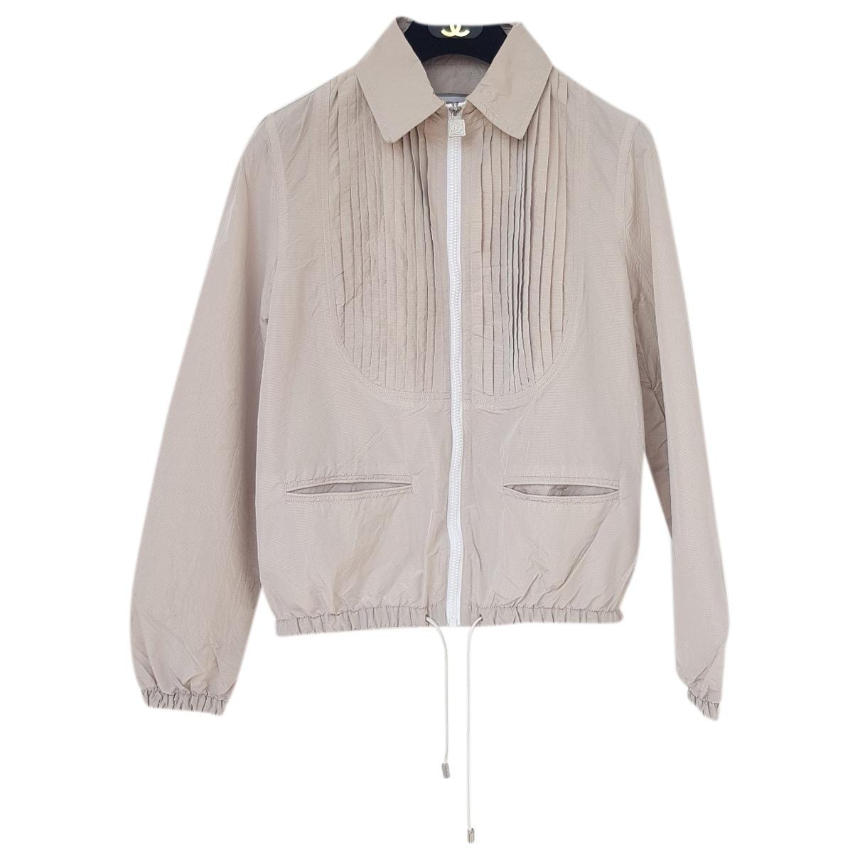 Chanel \N Ecru jacket for Women 38 FR