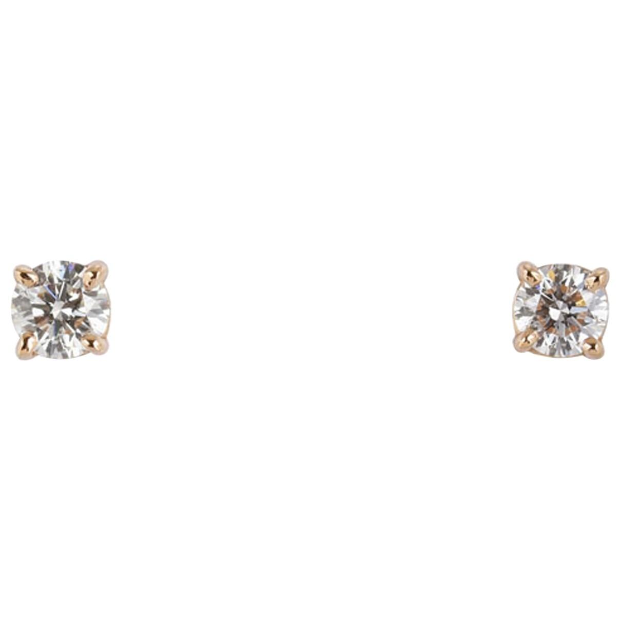Tiffany & Co \N Gold Pink gold Earrings for Women \N