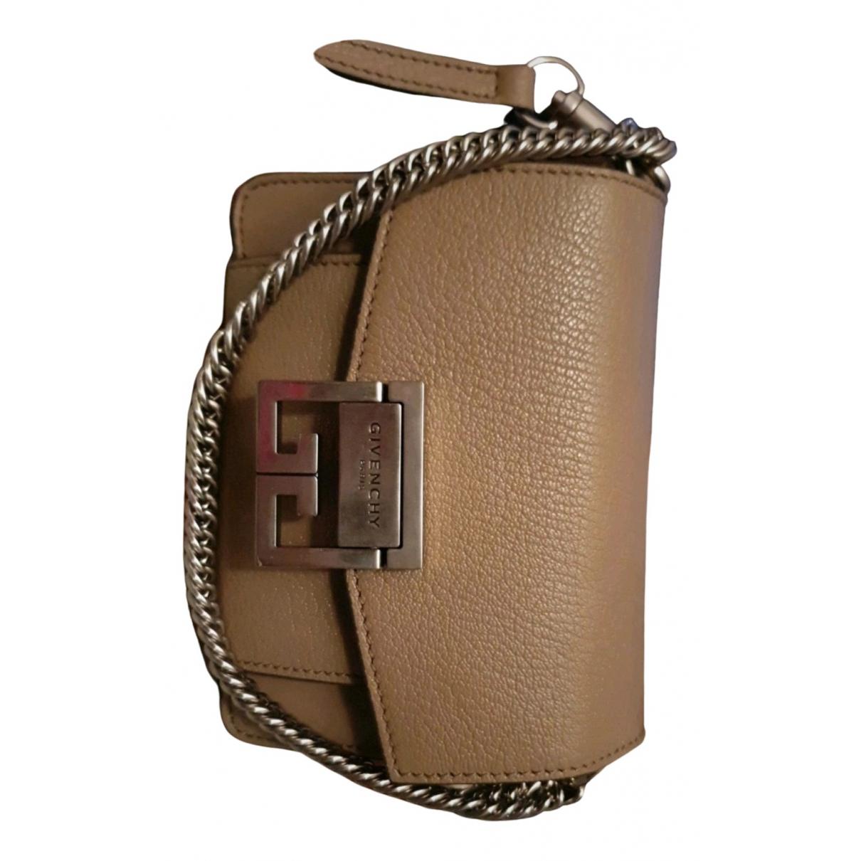 Givenchy GV3 Beige Leather handbag for Women N