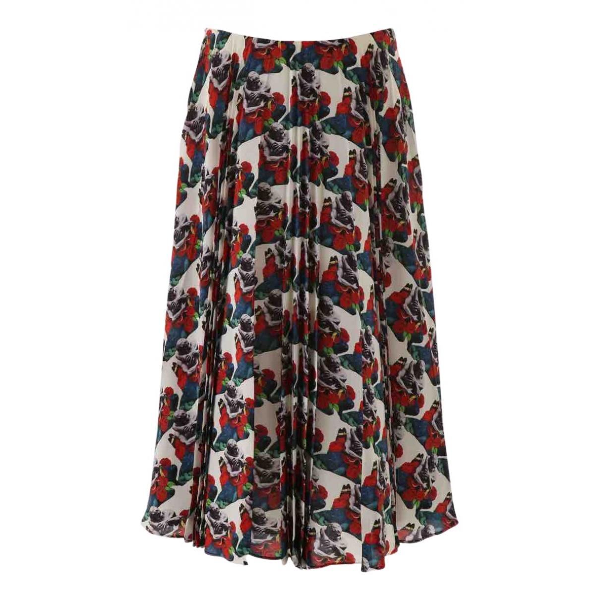 Valentino Garavani N Multicolour Silk skirt for Women 40 IT