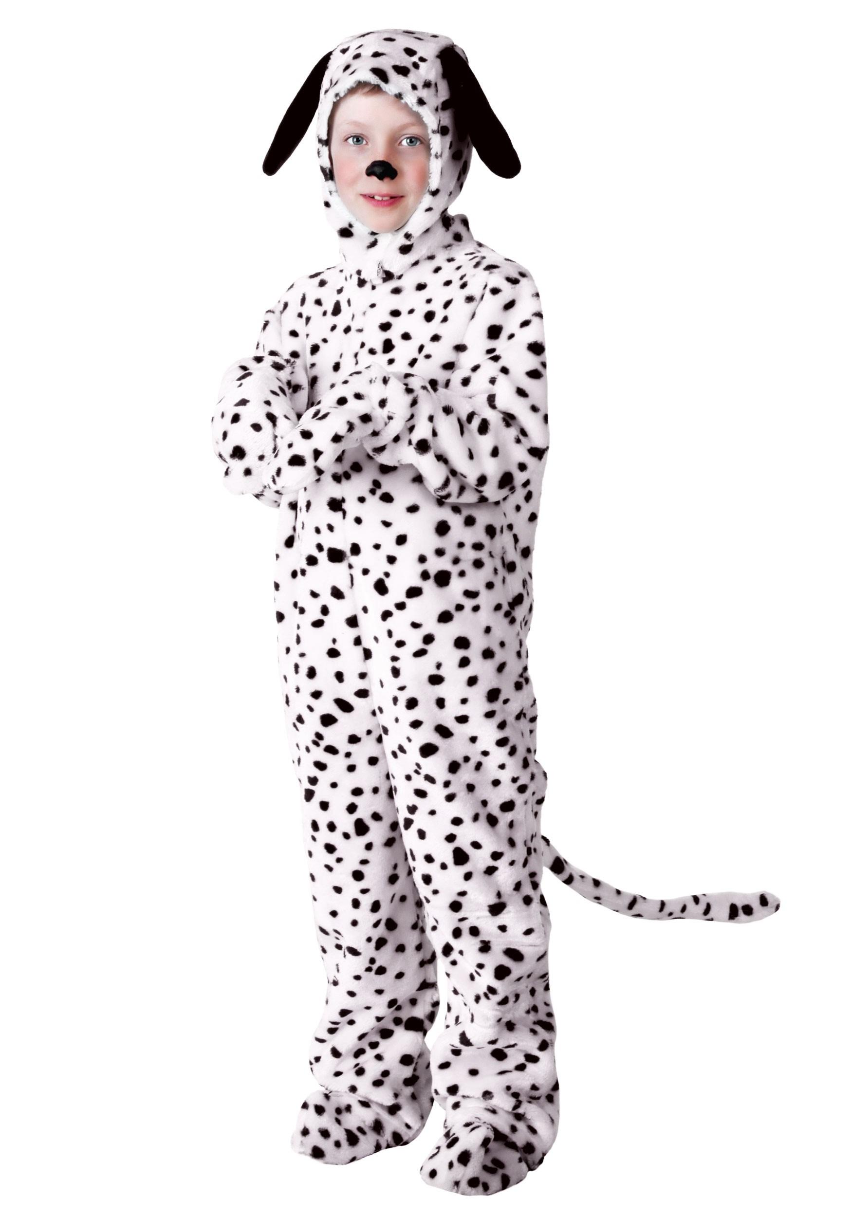 Dalmatian Costume For Kids | Dog Jumpsuit | Exclusive