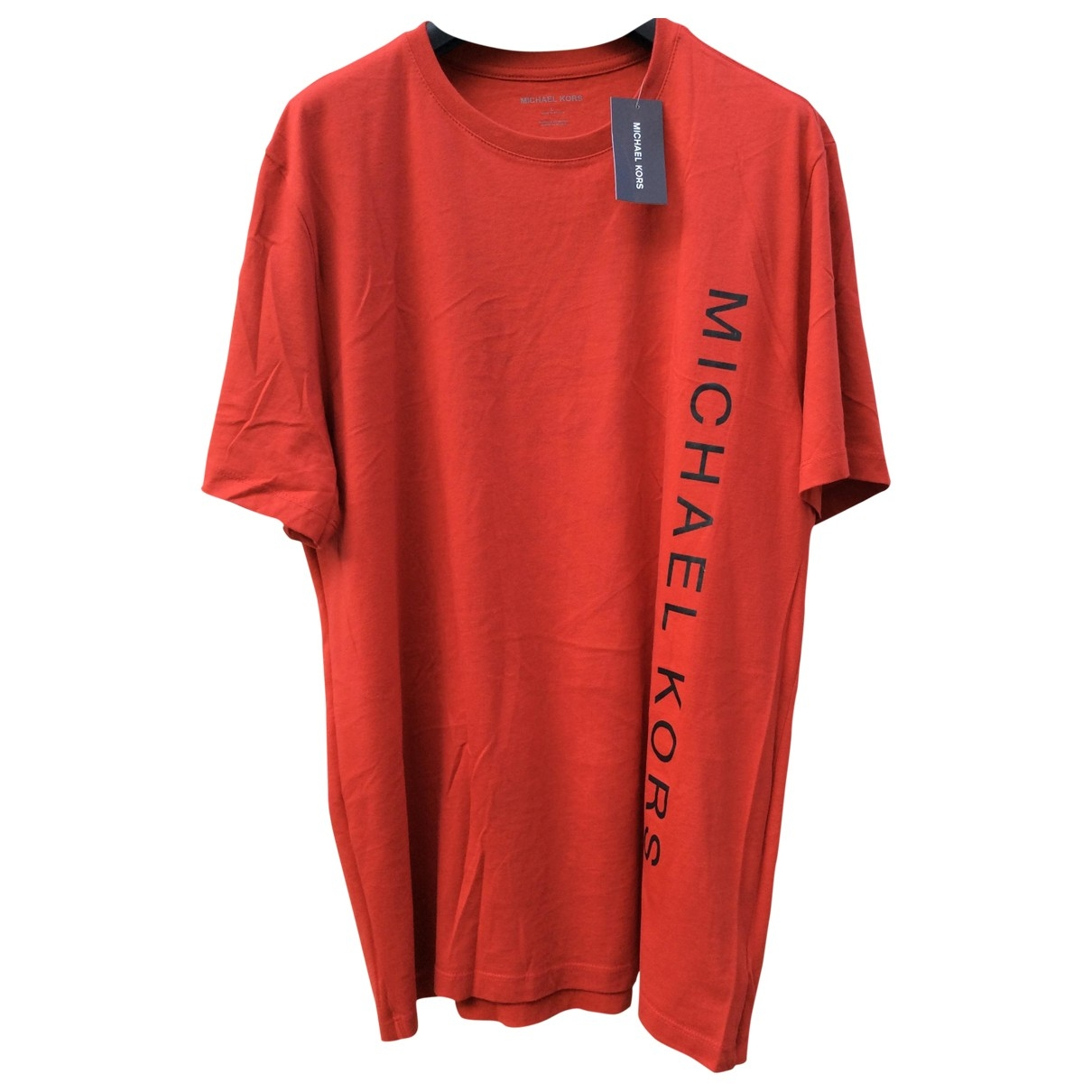 Michael Kors \N Red Cotton T-shirts for Men L International