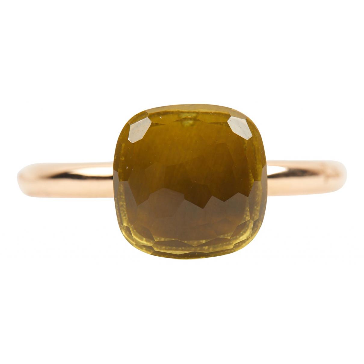 Pomellato - Bague Nudo pour femme en or jaune - dore
