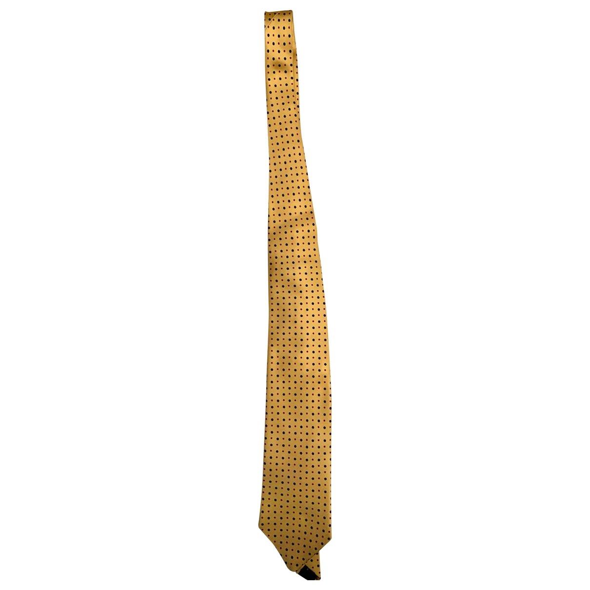 Harvey Nicols \N Krawatten in  Gelb Seide