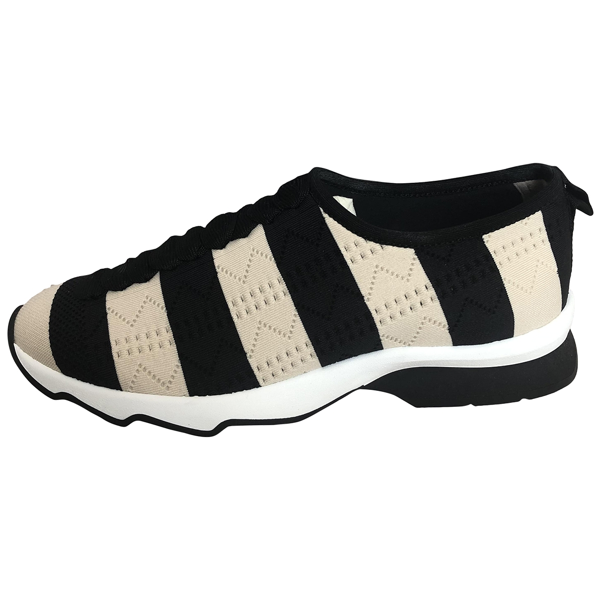 Fendi \N Multicolour Leather Trainers for Women 41 EU
