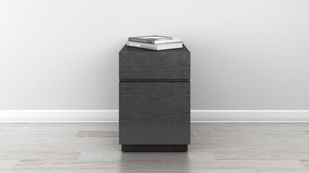 FT16PDG Signature Home Collection 2 Drawer Contemporary Graphite Rolling File