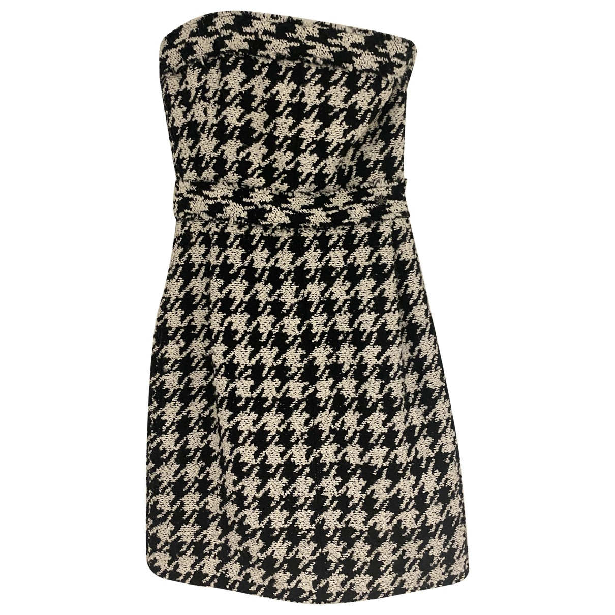 Chanel \N Kleid in  Schwarz Tweed