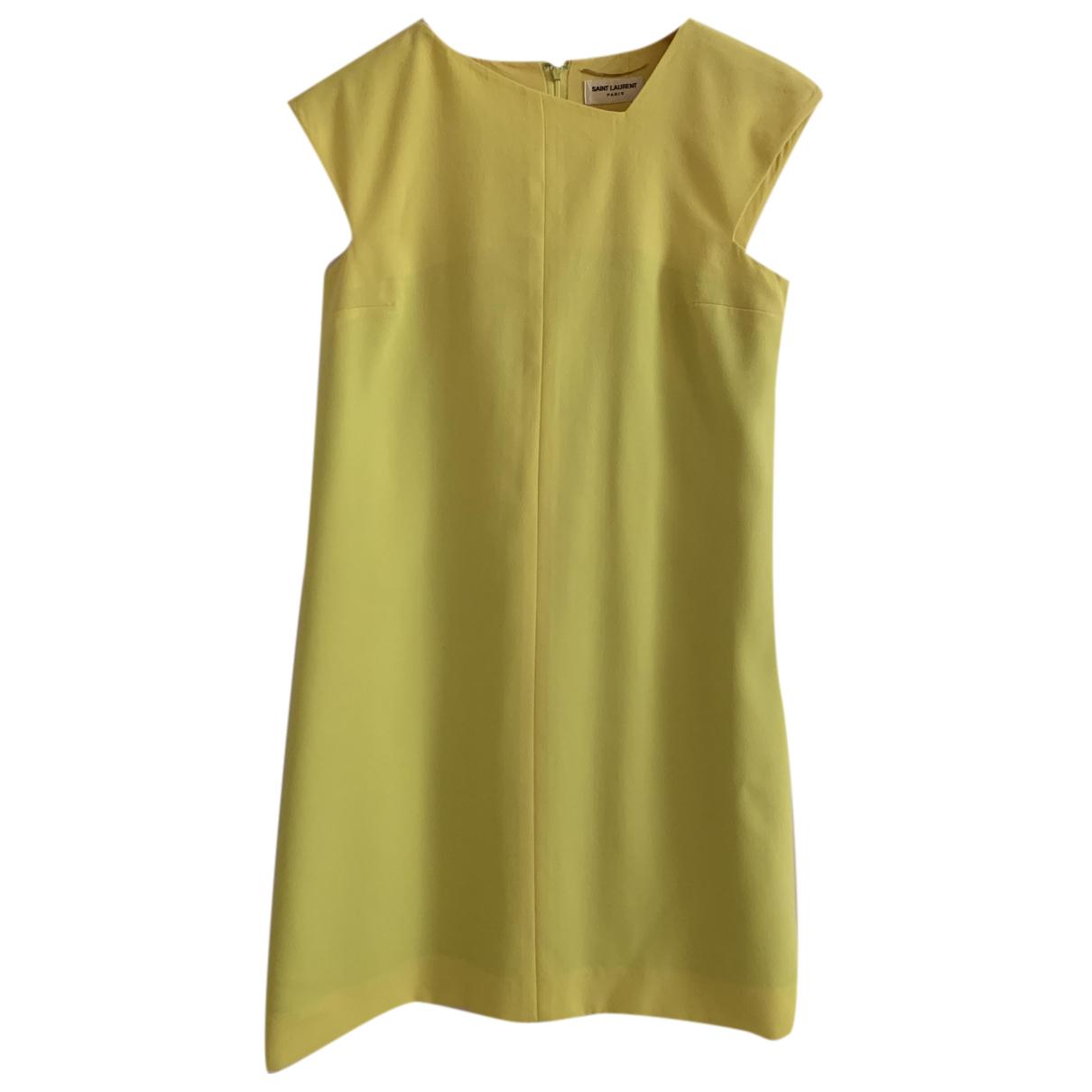 Saint Laurent N Yellow dress for Women 40 IT