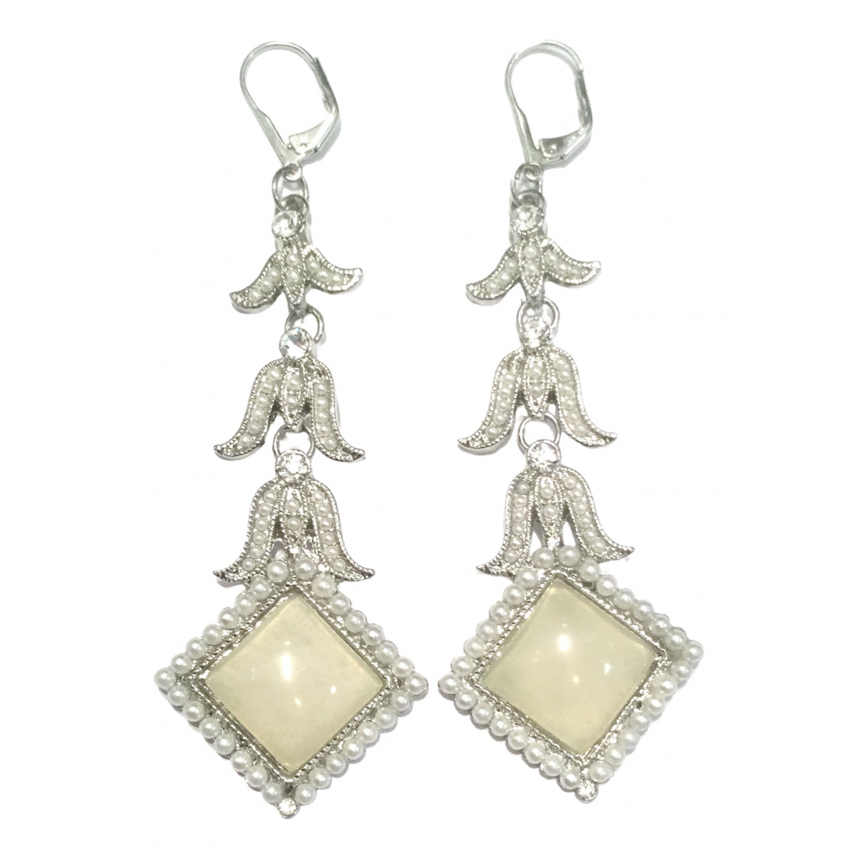 Valentino Garavani \N Silver Metal Earrings for Women \N