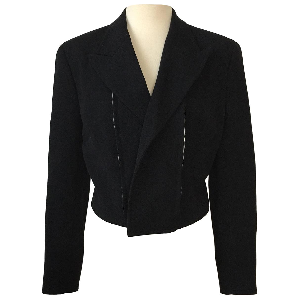 Comme Des Garcons - Veste   pour femme en laine - noir