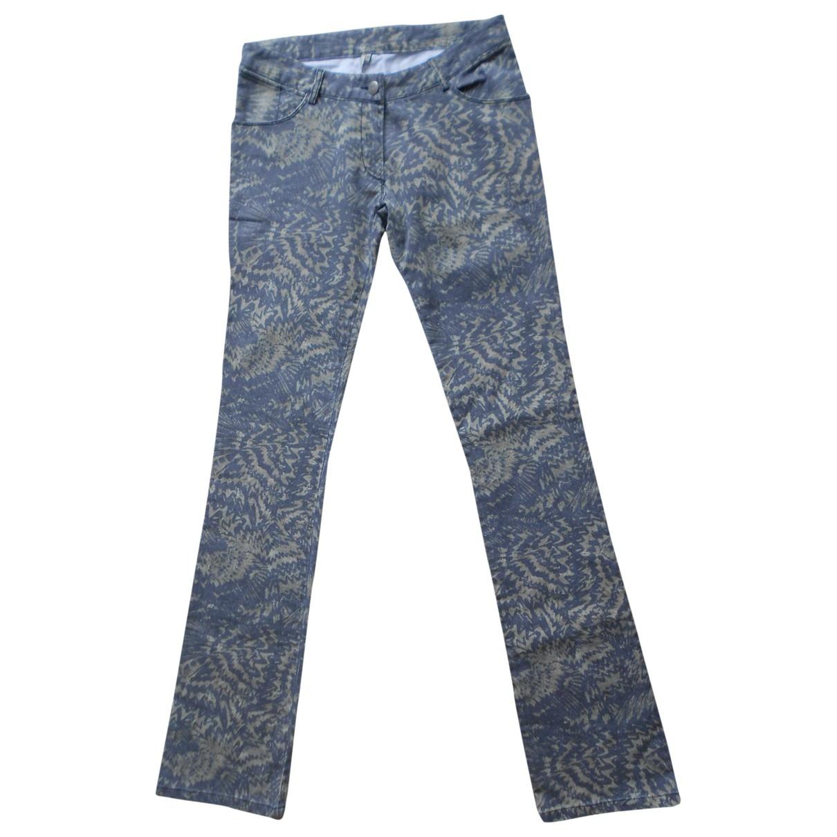 Iro \N Khaki Cotton - elasthane Jeans for Women 27 US