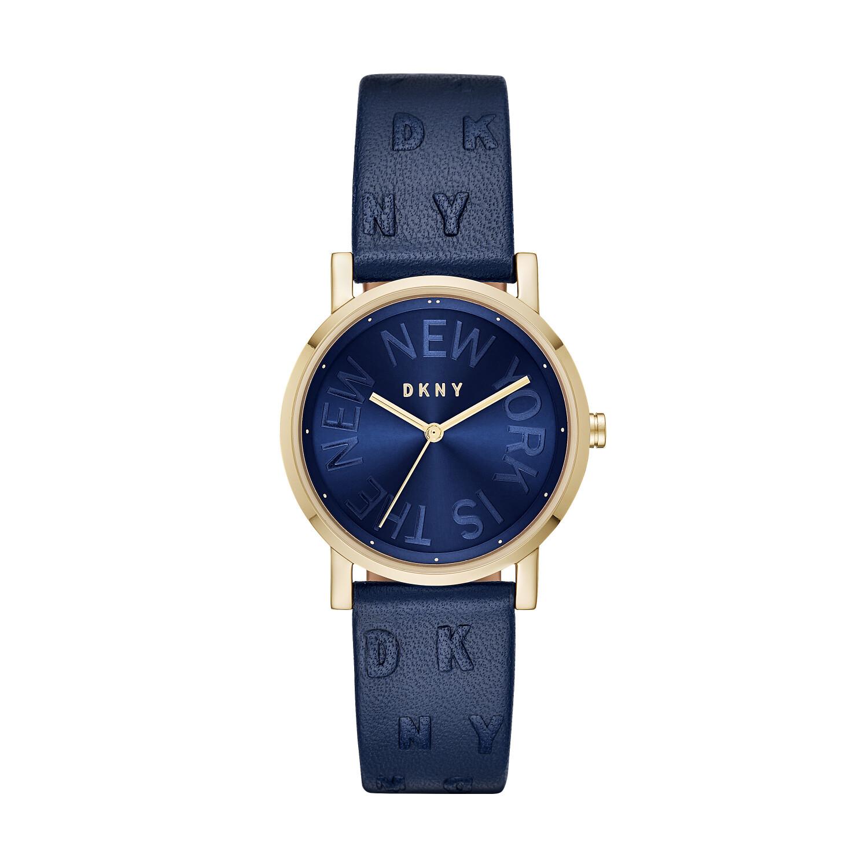 Dkny Women's Soho NY2763 Blue Leather Quartz Fashion Watch