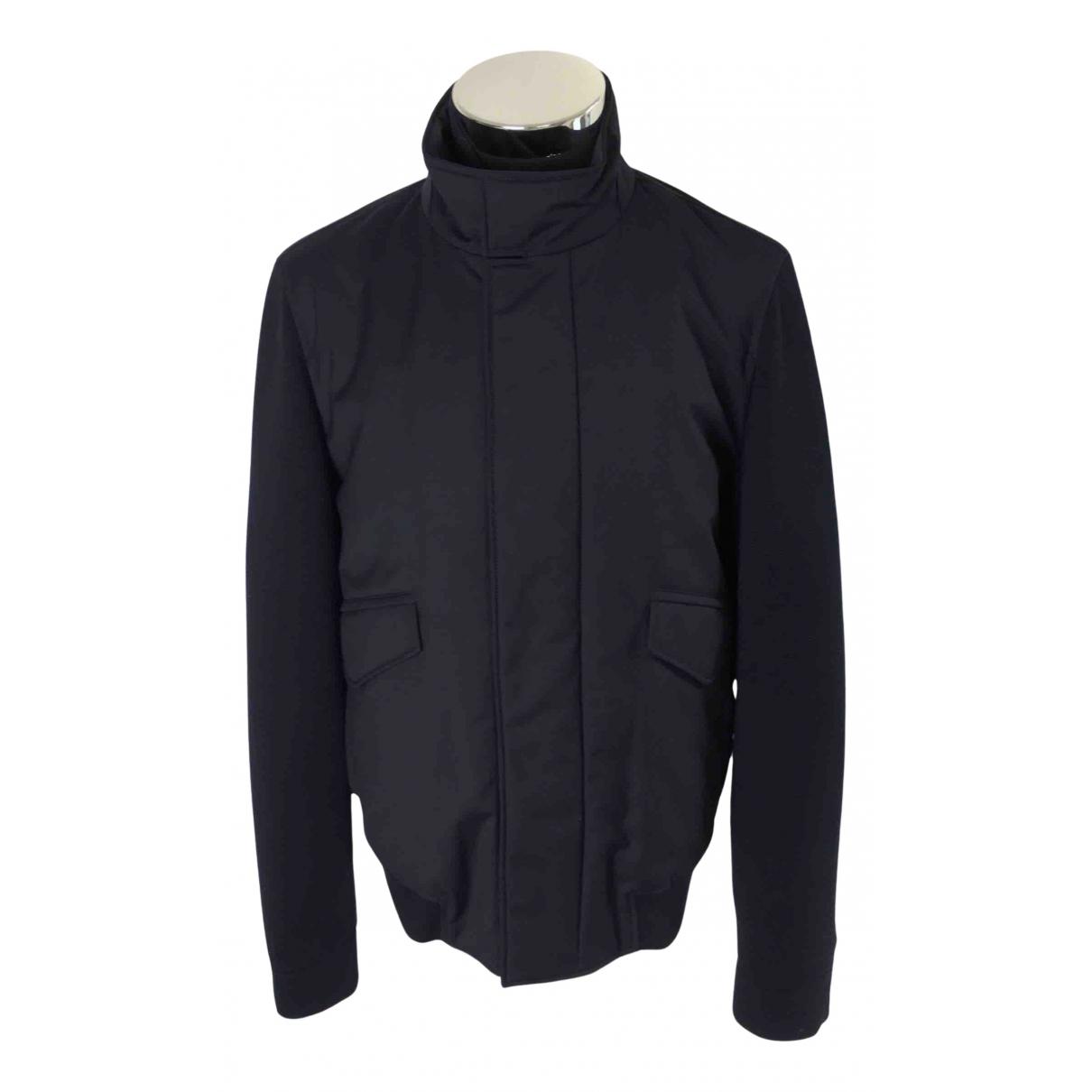 Boss N Navy Wool jacket  for Men 50 IT