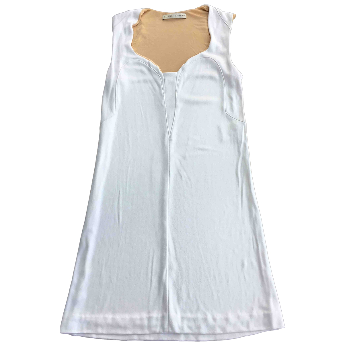 Balenciaga - Robe   pour femme - blanc