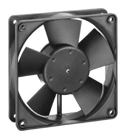 ebm-papst , 12 V dc, DC Axial Fan, 119 x 119 x 32mm, 95m³/h, 1.2W