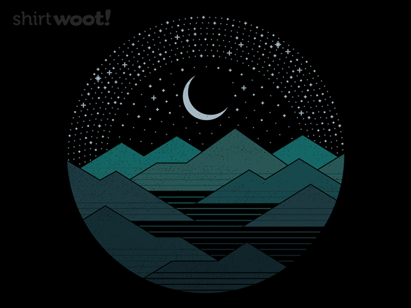 Between The Mountains And The Stars T Shirt