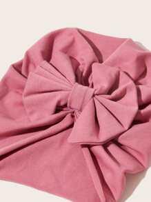 3pcs Baby Bow Knot Turban Hats