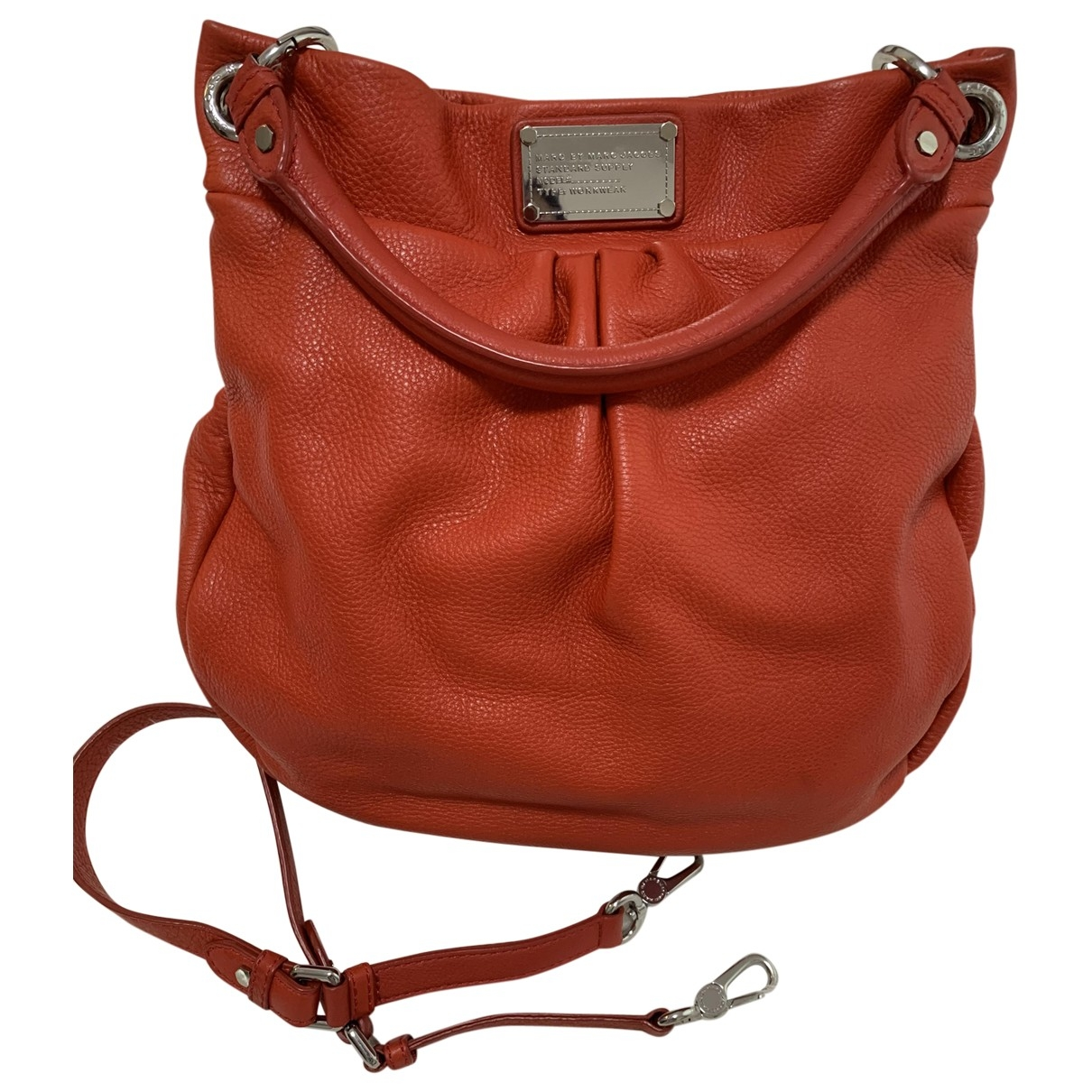 Marc By Marc Jacobs Classic Q Red Leather handbag for Women \N