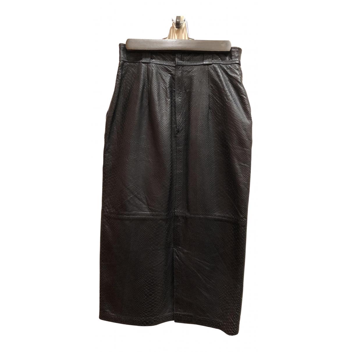 Falda midi de Piton Gianni Versace