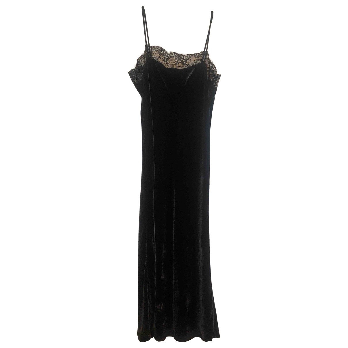 Jucca \N Blue Velvet dress for Women 44 IT