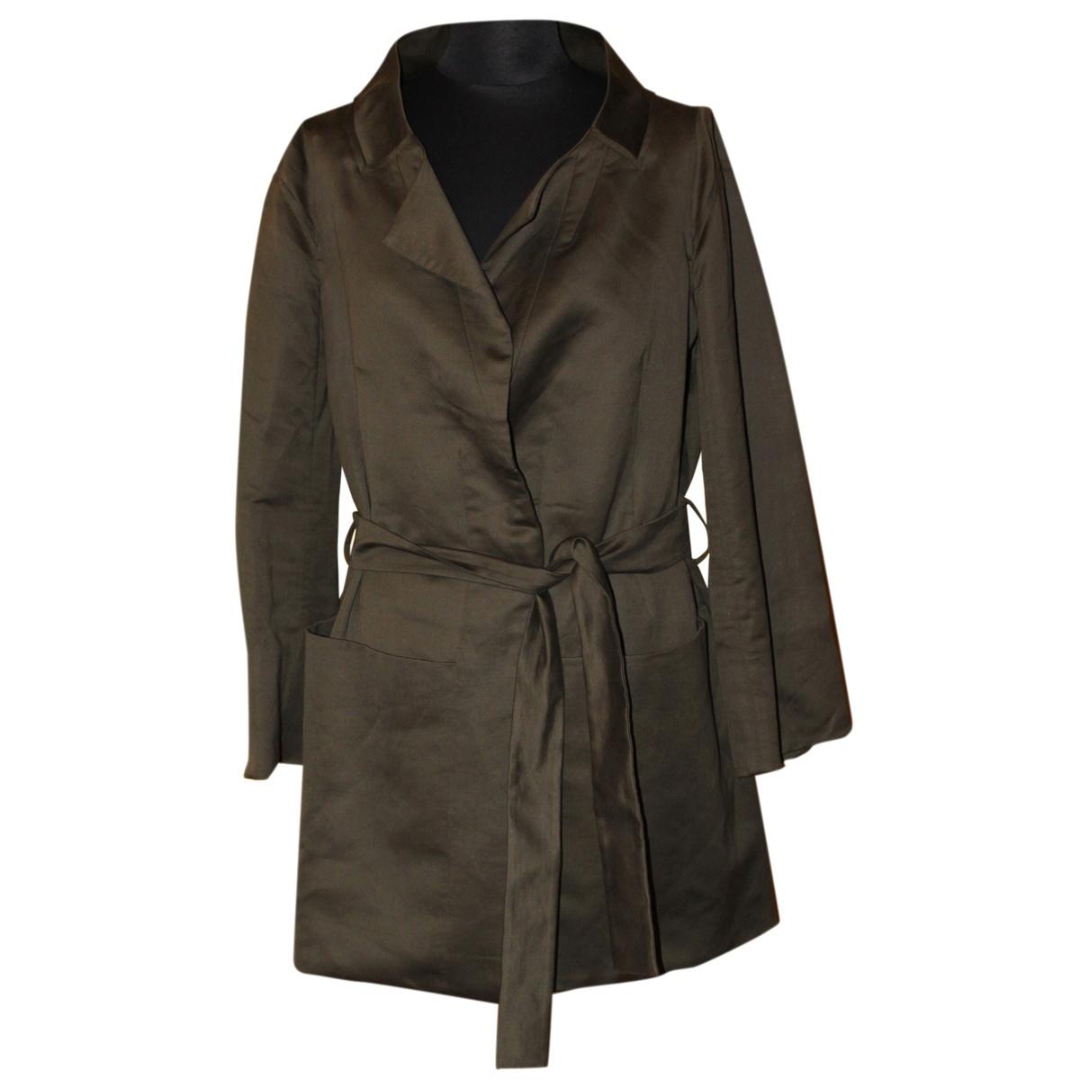 Chloé N Brown Linen coat for Women L International