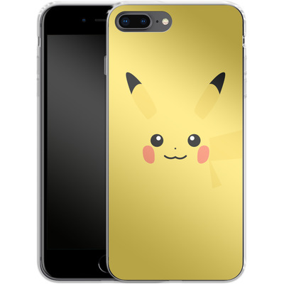 Apple iPhone 7 Plus Silikon Handyhuelle - Pikachu by Lucian Foehr von Lucian Foehr