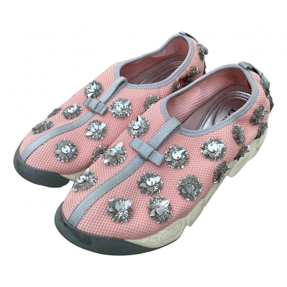 Dior Dior Fusion Sneakers in  Rosa Polyester