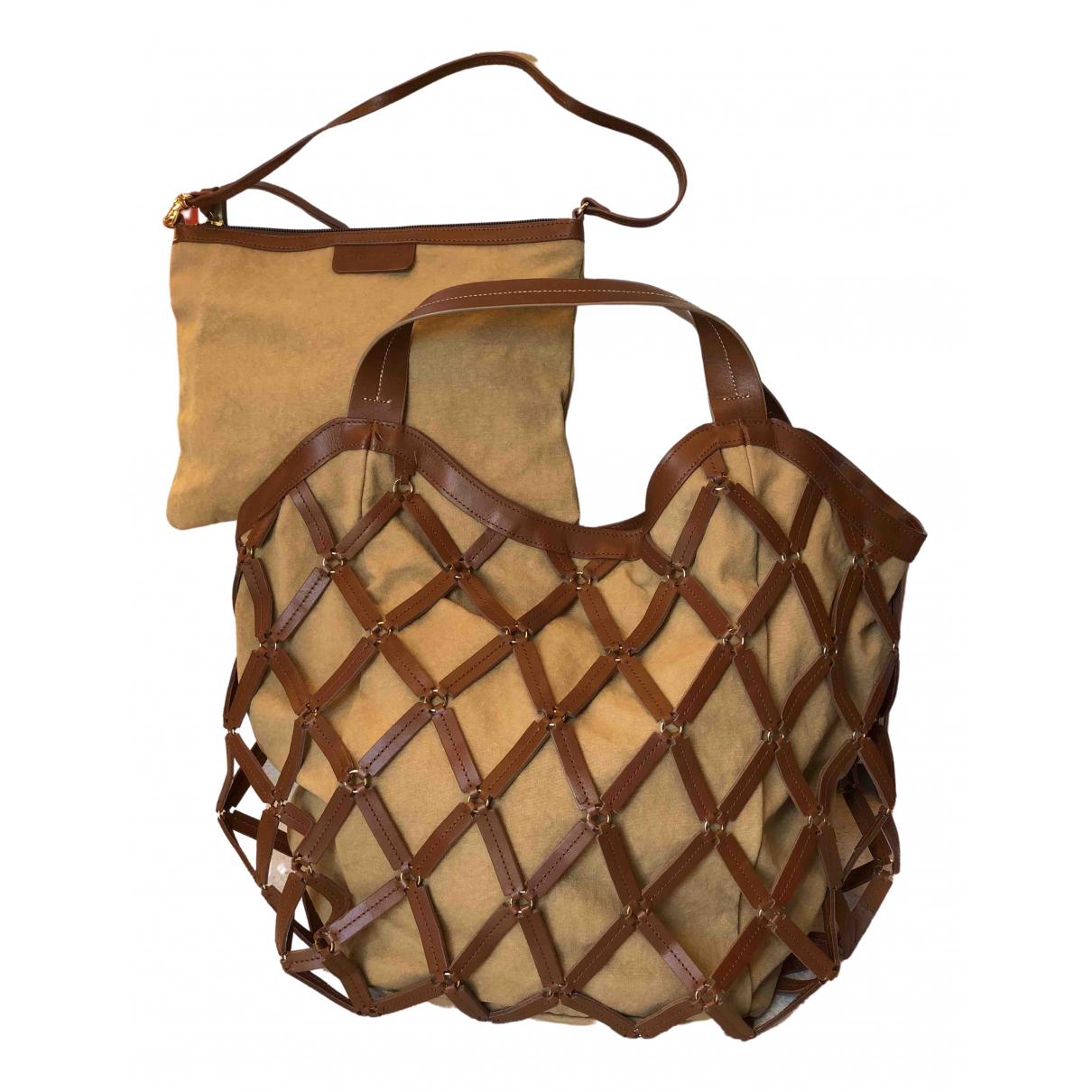 Boss Orange \N Handtasche in Baumwolle
