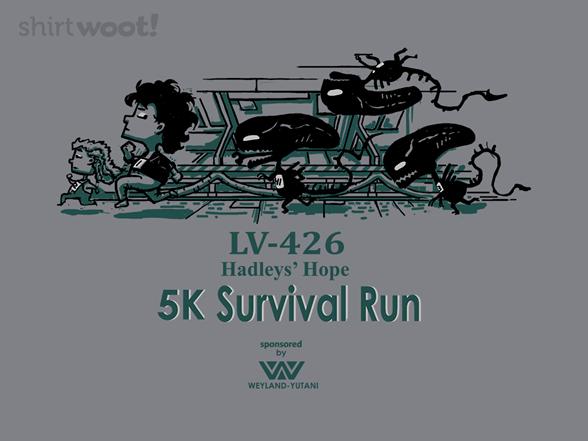 Survival Run T Shirt
