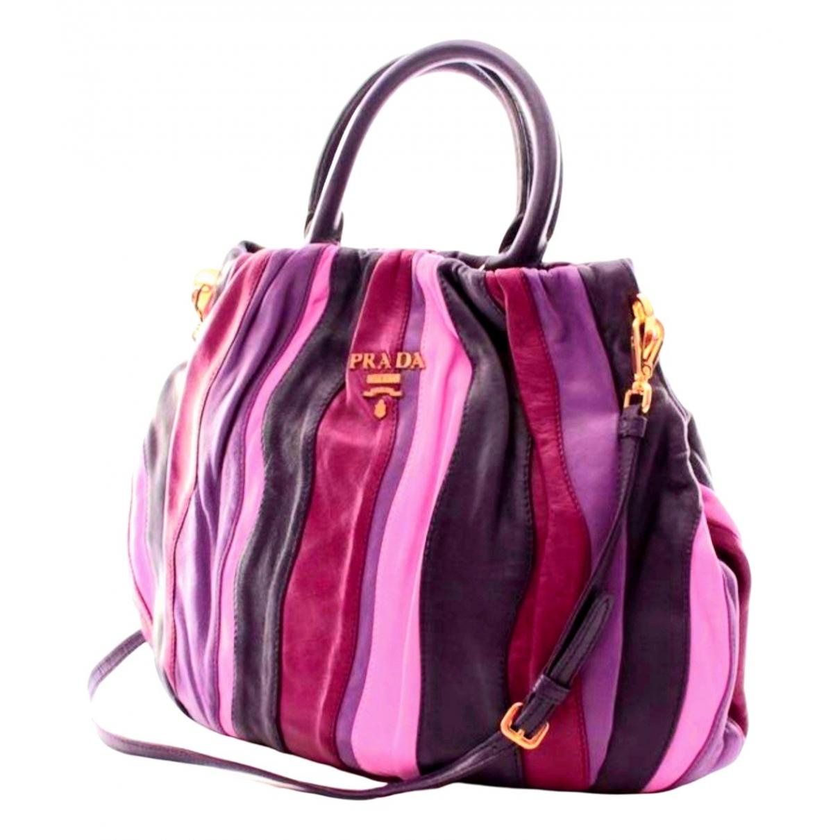 Prada \N Multicolour Leather handbag for Women \N