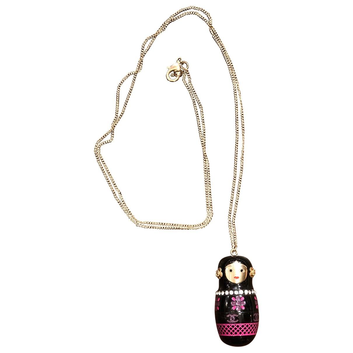 Chanel - Sautoir   pour femme en metal - rose