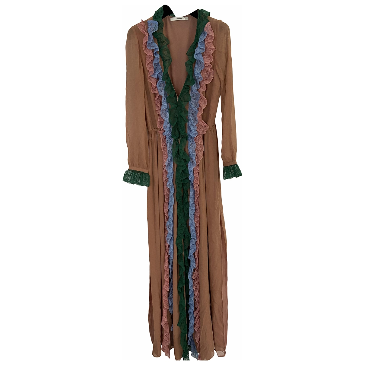 Uterque \N Kleid in  Bunt Seide