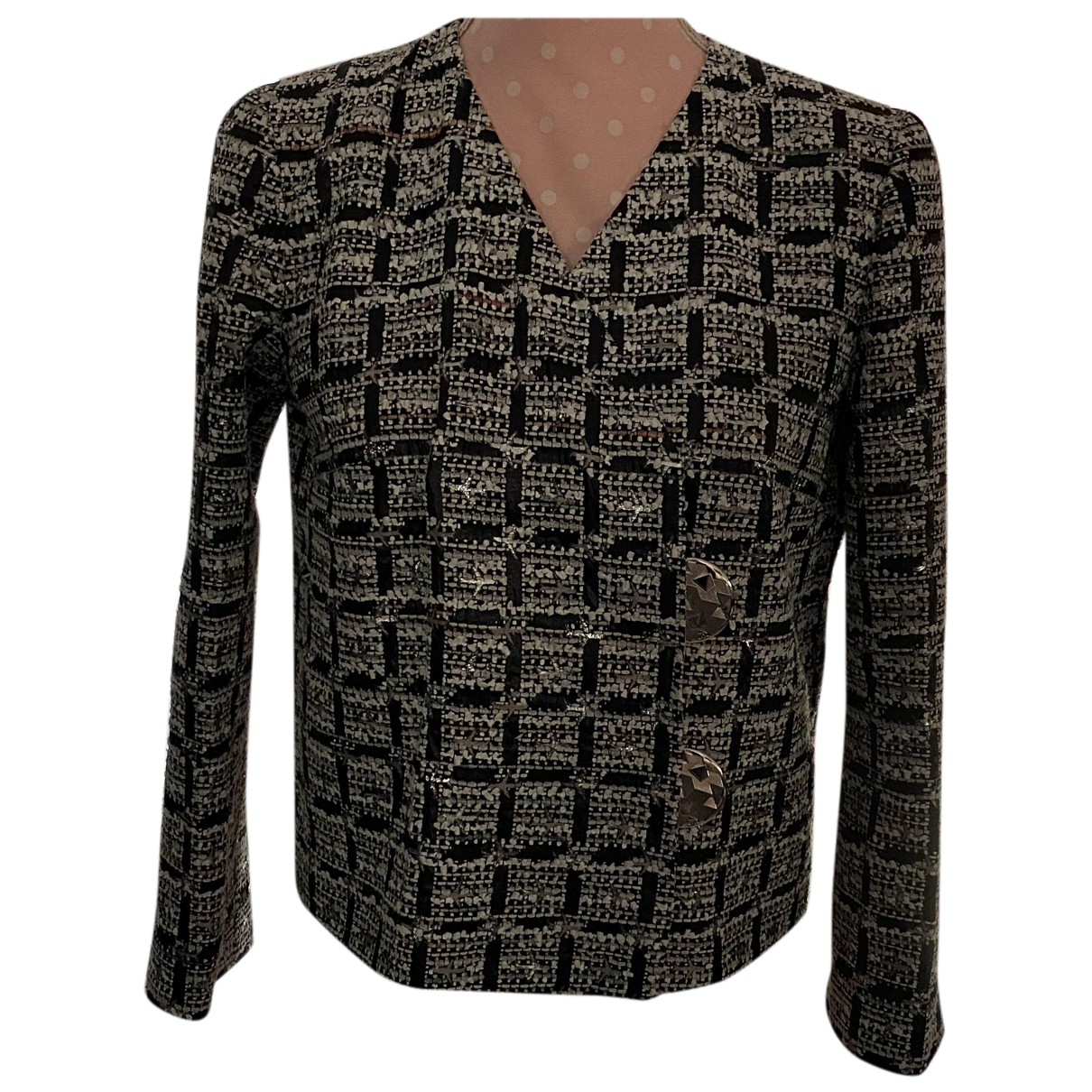 Chanel N Black jacket for Women 34 FR