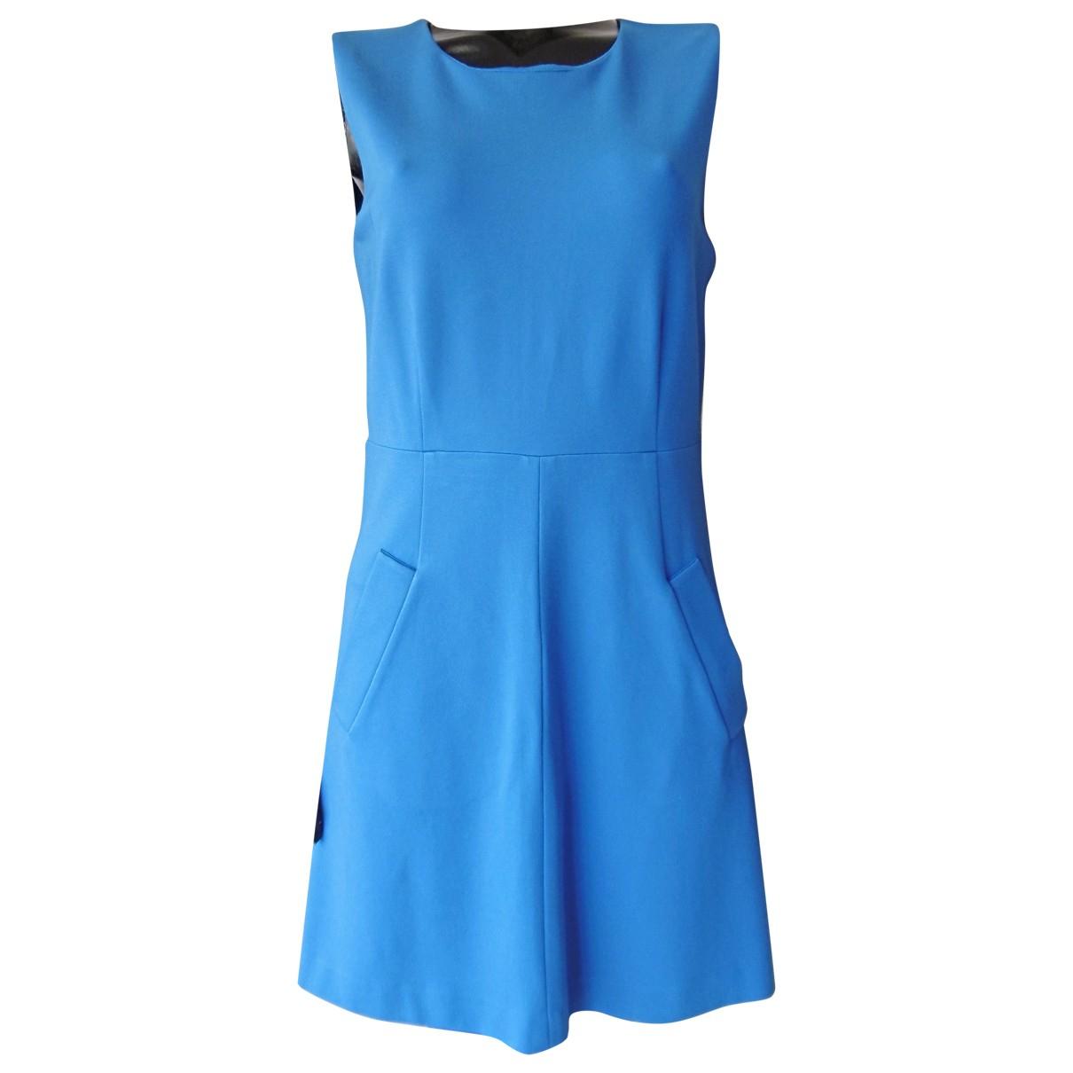 Diane Von Furstenberg \N Kleid in  Blau Synthetik