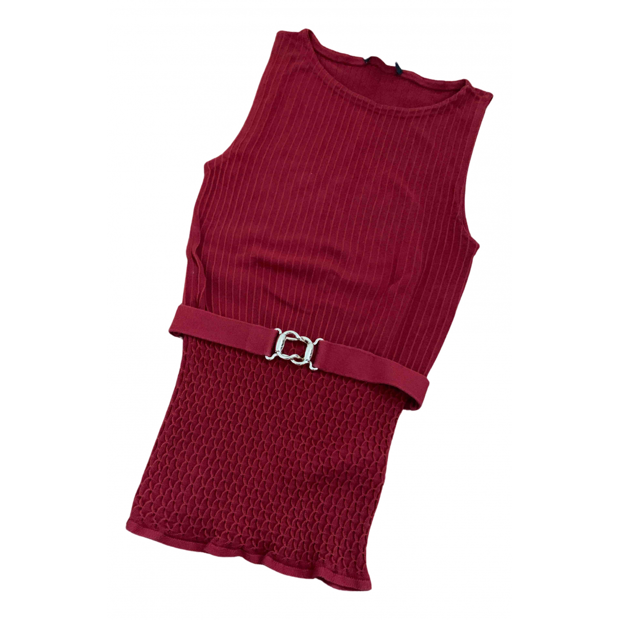 Gucci N Red Cotton  top for Women M International
