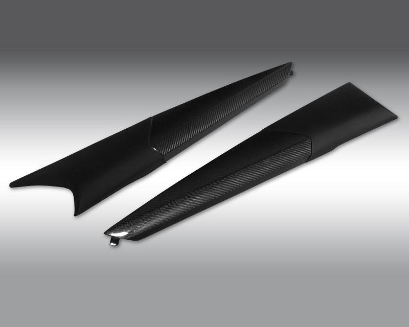 Novitec L8 111 57 Carbon Fiber Door Panel Inserts Lamborghini Aventador 12-20
