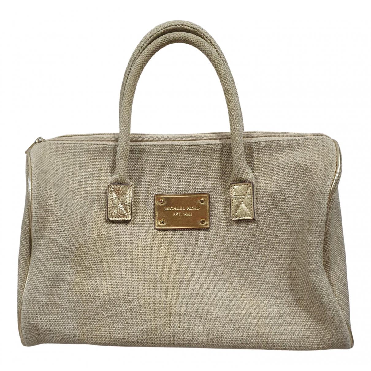 Michael Kors \N Beige Cotton handbag for Women \N