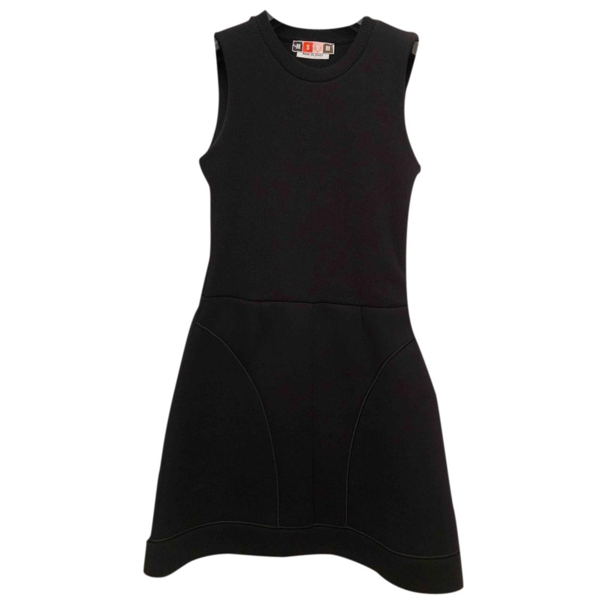 Msgm N Black Cotton dress for Women M International