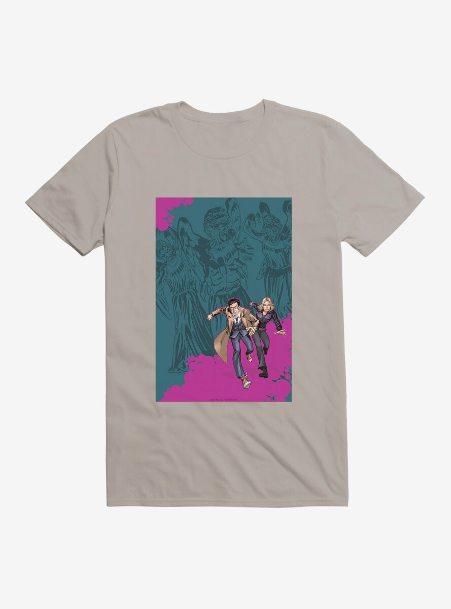 Doctor Who The Tenth Doctor Colorpop Runaway T-Shirt