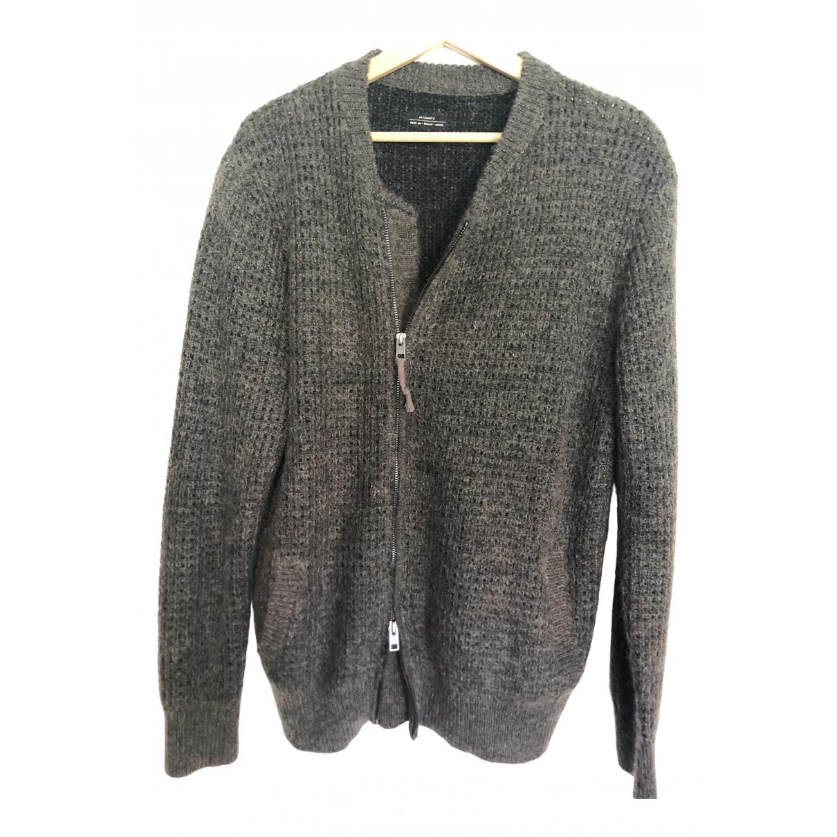 All Saints \N Brown Wool Knitwear & Sweatshirts for Men M International