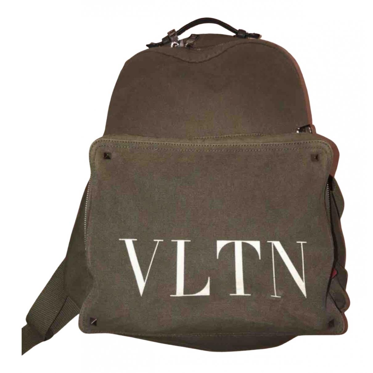 Valentino Garavani N Khaki Cotton bag for Men N