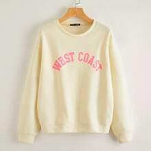Buchstaben  Laessig Sweatshirts