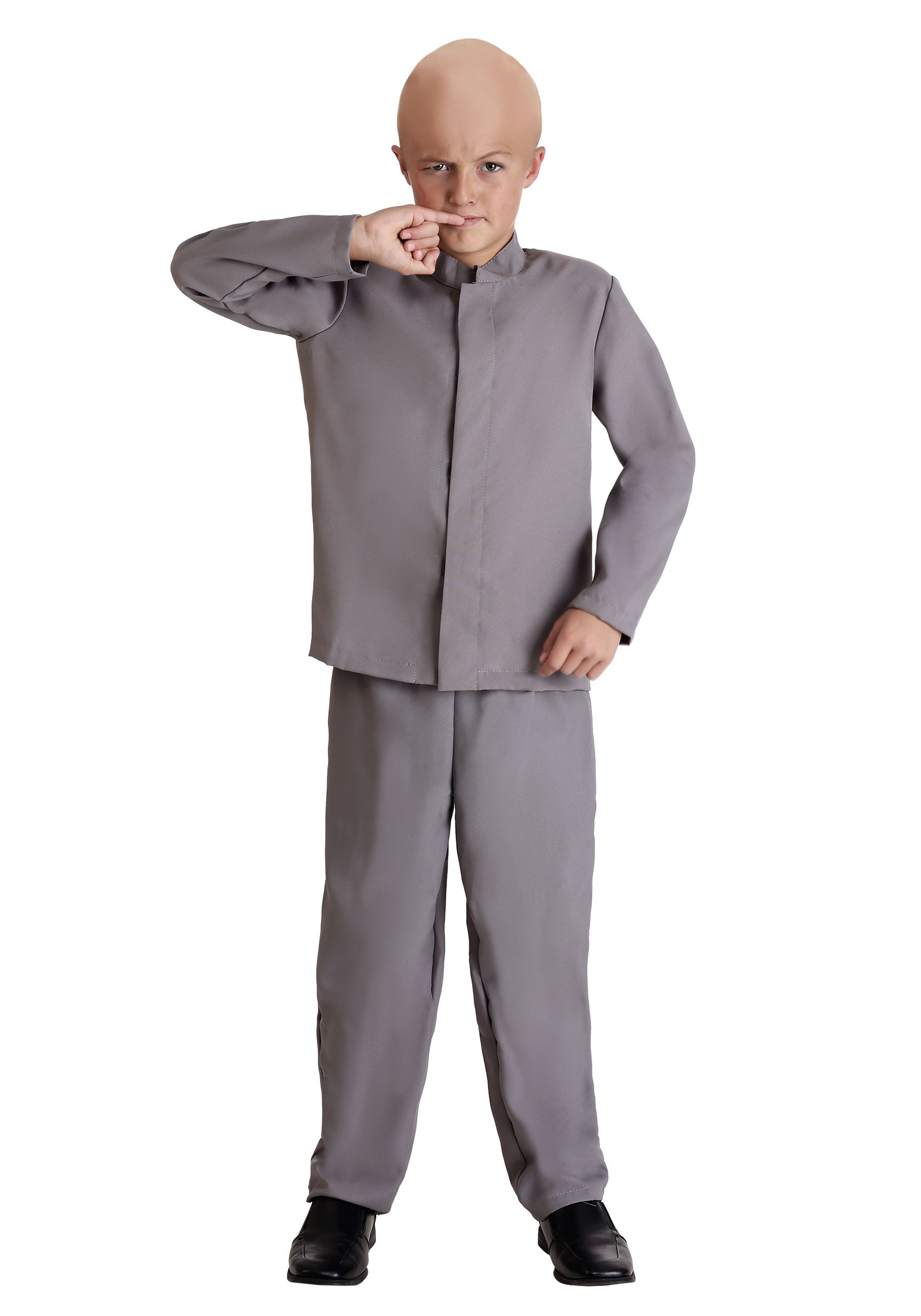 Kids Mini Grey Suit Costume