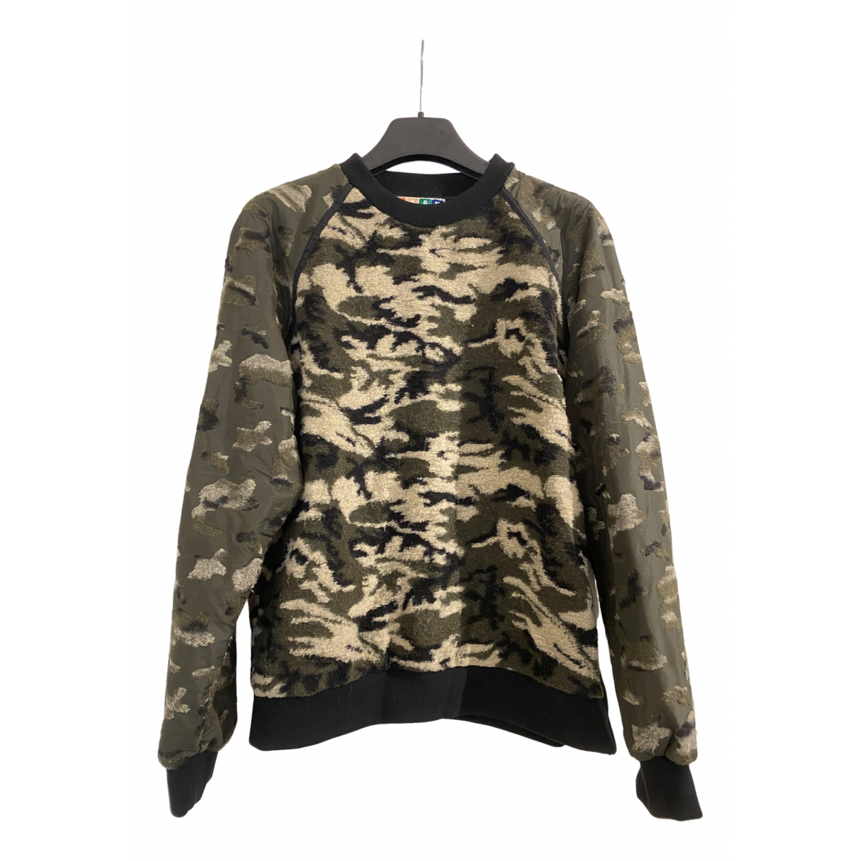 Msgm \N Khaki Knitwear & Sweatshirts for Men 46 IT